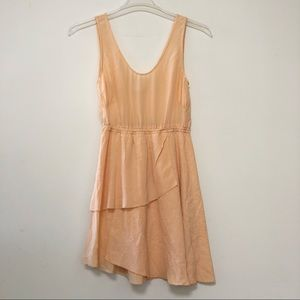 Aritzia Wilfred Le Fou silk sleeveless dress
